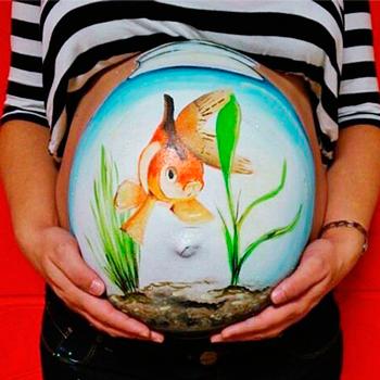 боди-арт для будущих мам