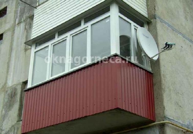 Красивые балконы внешний вид..